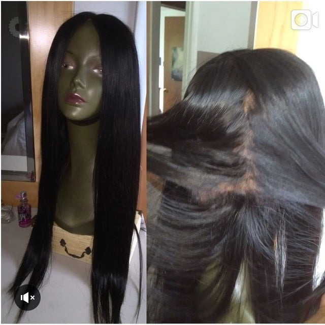 PRE-plucked Full Lace Wigs (Bodywave, straight)