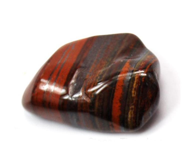1. Red Tiger Iron Stones