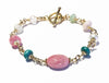 14K GF Gold Self-Confidence Bracelet & Self-Esteem Crystal Healing Bracelet for Women