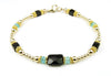 14K GF Gold Weight Loss & Metabolism Boosting Crystal Healing Bracelet for Women