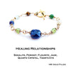 14K GF Gold Healing Relationships Crystal Healing Stones for Mending Relationships with Family