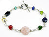 Heart, Mind and Soul Bracelet, Crystal Healing Bracelets for Women  - DAMALI by GemstoneGifts Handmade Jewelry