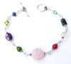 Heart, Mind and Soul Bracelet, Crystal Healing Bracelets for Women
