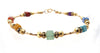 Minimalist Chakra Bracelet, 14K Gold Filled Gemstone Healing Crystal Intention Jewelry
