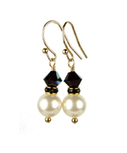 garnet products freshwater january and pearls swarovski silver earrings pearl crystal