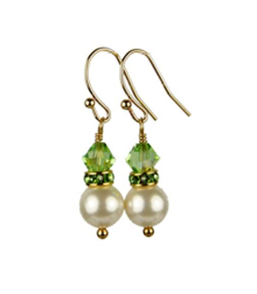 gold swarovski and pearl pearls products peridot crystal august earrings freshwater