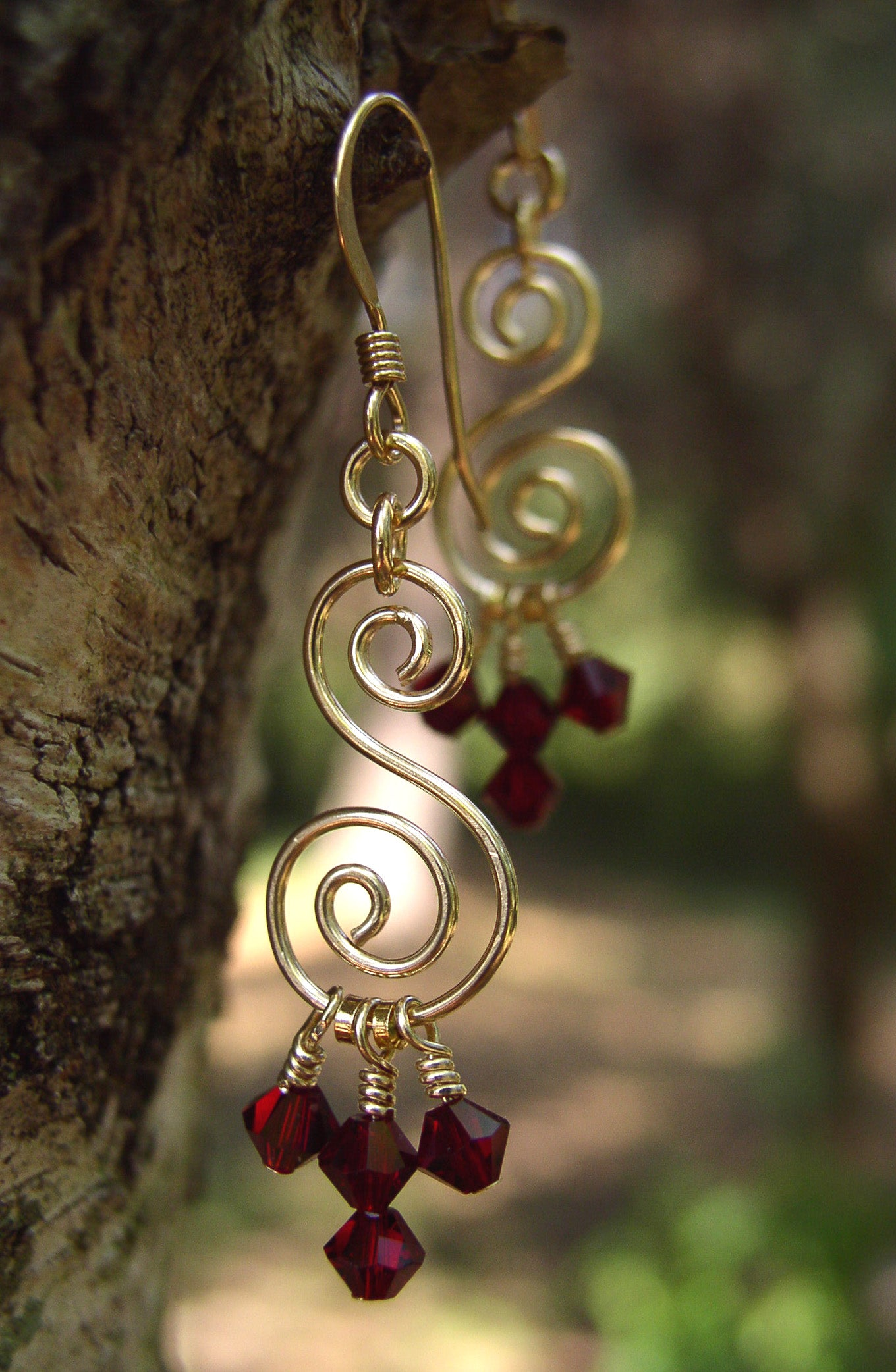 Gold chandelier earrings red crystal chandelier earrings crystal gold chandelier earrings red crystal chandelier earrings crystal chandelier earrings arubaitofo Choice Image