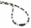 Mens Opal Necklace, Gemstone Beaded Crystal Healing Chakra Jewels for Gents MNNEC09