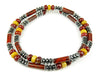 Mens Pietersite Jasper Necklace Gemstone Beaded Crystal Healing Chakra Jewels for Gents MNNEC17
