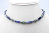 Sodalite Mens Chakra Necklace, Mens Gemstone Beaded Necklaces, Agate Crystal Healing Jewelry - Jewels for Gents  - DAMALI by GemstoneGifts Handmade Jewelry
