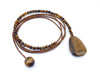 Tigers Eye Diane Keaton Lariat Necklace Somethings Gotta Give Lasso Necklace
