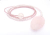 Rose Quartz Diane Keaton Lariat Necklace Somethings Gotta Give Lasso Necklace