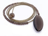 Smokey Quartz Diane Keaton Lariat Necklace Somethings Gotta Give Lasso Necklace
