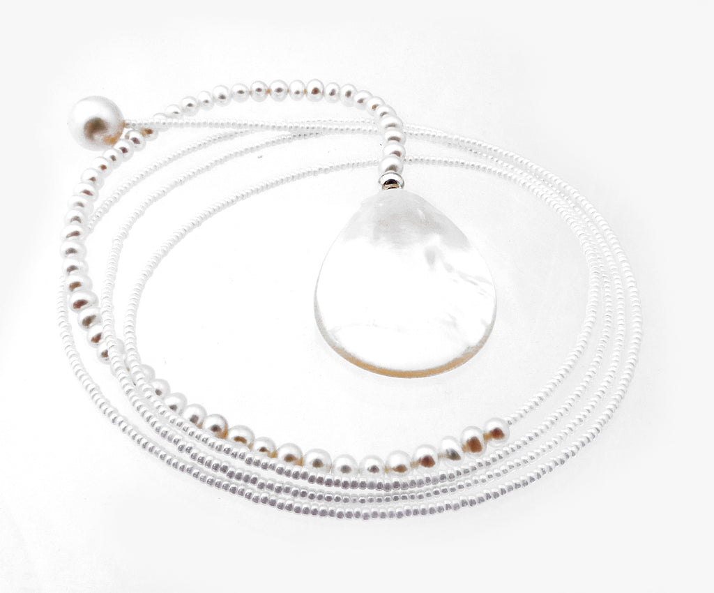 Pearl Diane Keaton Lariat Necklace Somethings Gotta Give Lasso Necklace  - DAMALI by GemstoneGifts Handmade Jewelry