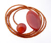 Carnelian Diane Keaton Lariat Necklace Somethings Gotta Give Lasso Necklace