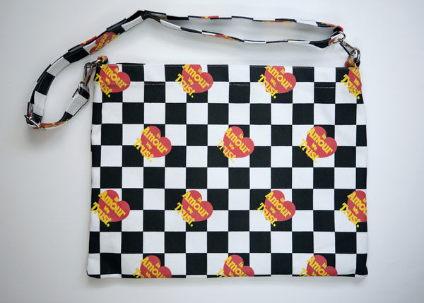 Checkerboard Shoulder Bag
