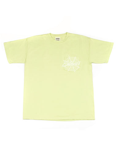 Spider Pocket Tee (Pistachio)
