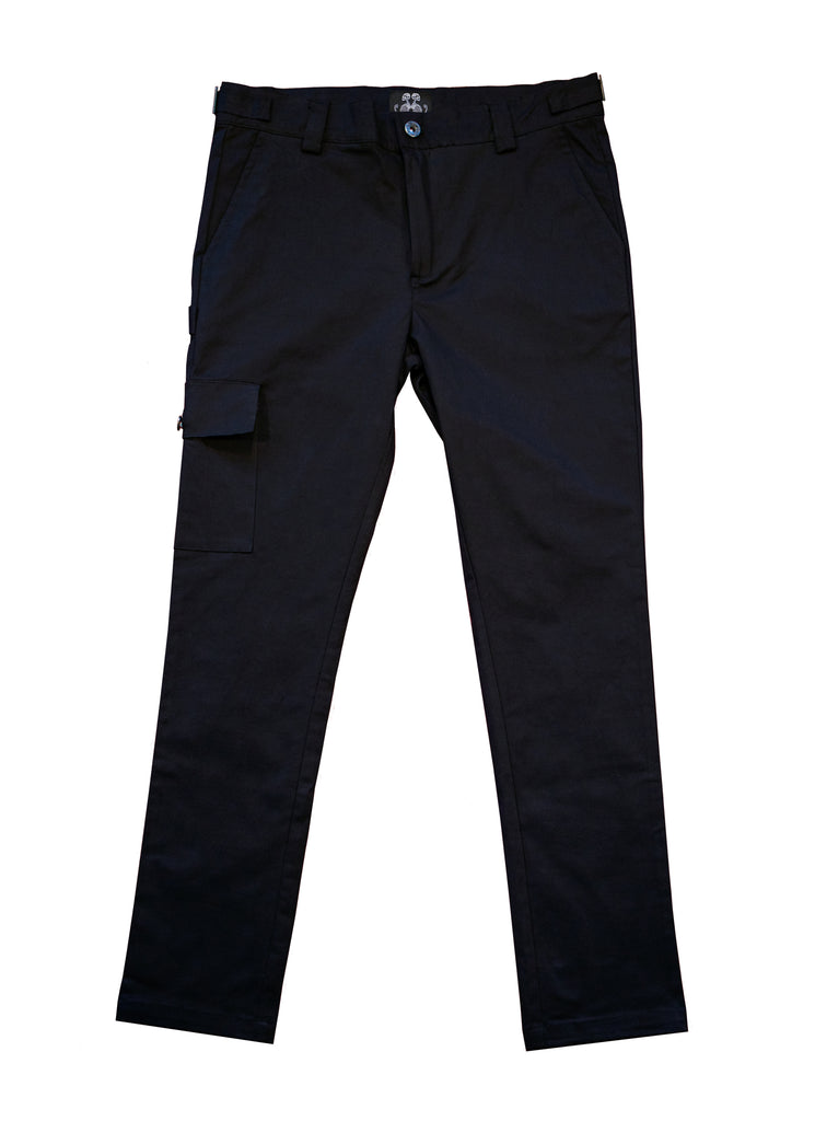 Black Workwear Pant