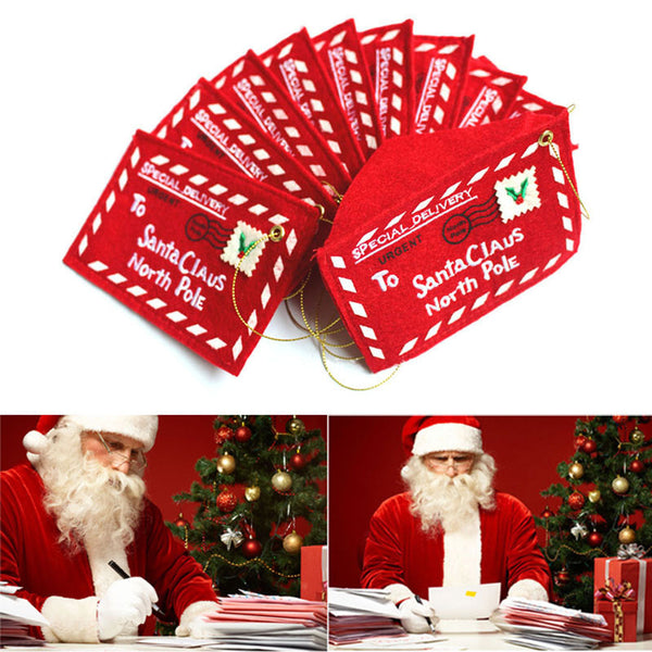 10pcs Christmas Envelope - Christmas Cards
