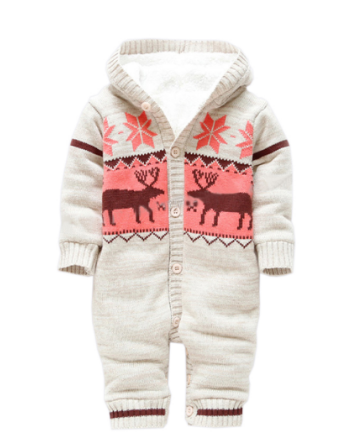Baby Rompers - Sweater Christmas Deer🎄