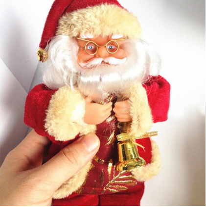 Santa Claus Toy 🎅🏽 - Christmas Decorations