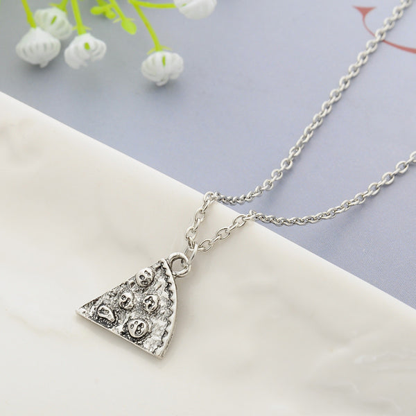 Pizza Pendant Necklaces - Friendship Necklace