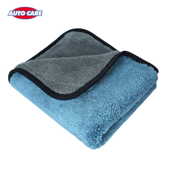 1pc 800gsm 45cmx38cm Super Thick Plush Microfiber Car Cleaning Cloth Car Care Microfibre Wax Polishing Detailing Towel