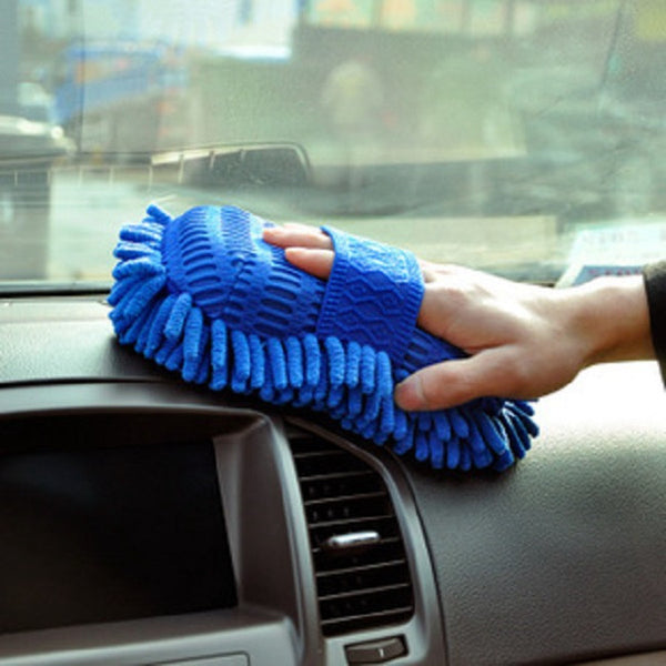 Car Styling Sponge Microfiber Washer Towel Duster For Cleaning & Detailing, Wahing Brushes For Ford Focus 2