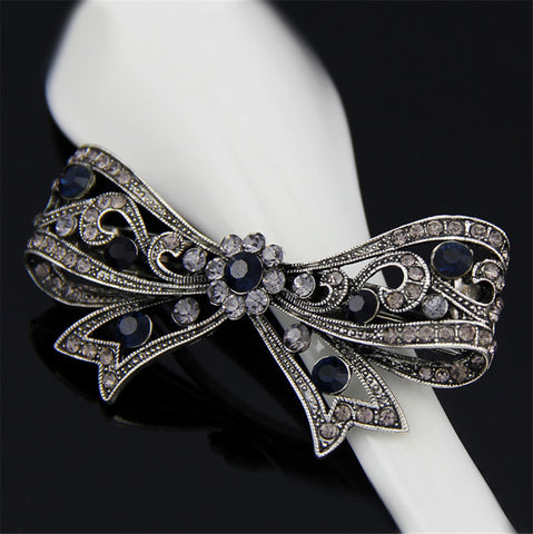 Fashion girls hair clips accessories luxuruous hair clips  accessories for women butterfly hair clips for girls