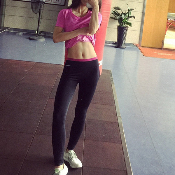 HOT High Quality Women Leggings Workout Leggings Elastic Comfortable Trousers Womans Pants