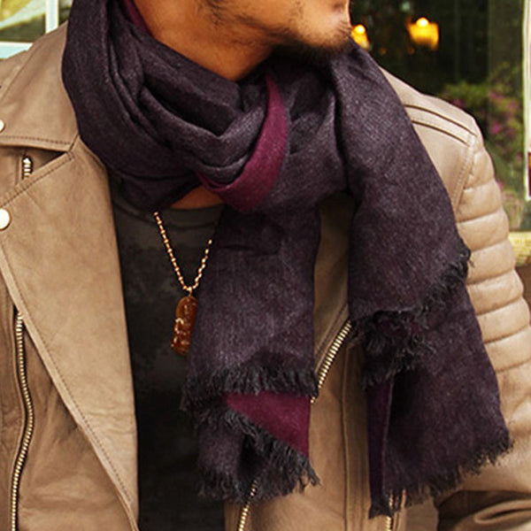 Luxury Brand Cashmere Scarf men 2017 Fashionable tassel British winter scarves stitching winter warm scarves pashmina shawl