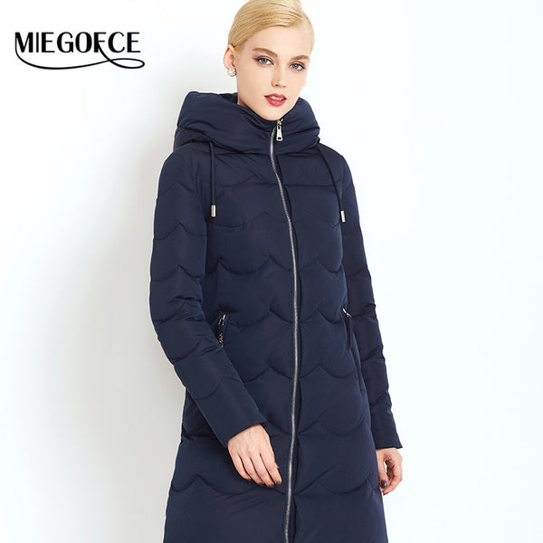 New Winter Collection Woman Down Parka with scarf  Winter Warm Coat Winter Women Down Jacket high quality hot sale - FREE SHIPPING