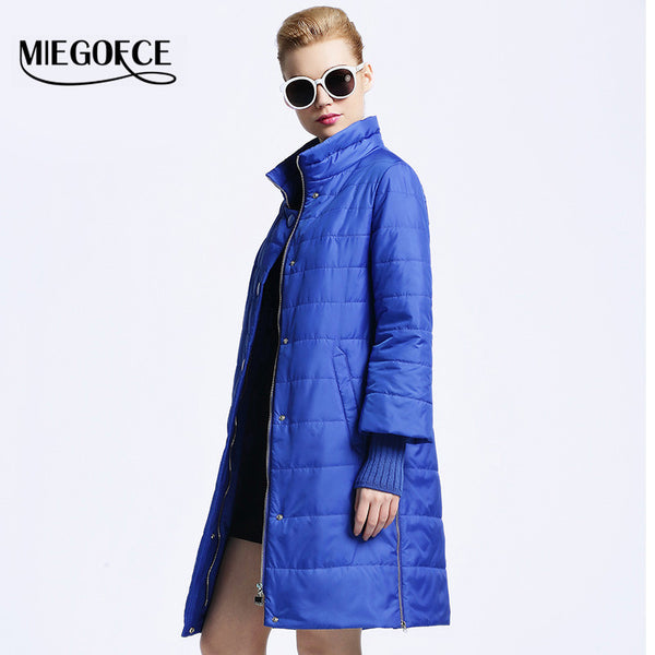 New spring jacket women winter coat women's clothing Medium-Long Cotton Padded slim warm Jacket coat High Quality - FREE SHIPPING