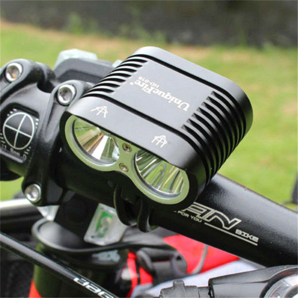 New Generation XM-L2 X2 Cree LED Bike LED Front Lights Bicycle Light MTB Cycling 3800LM Head Light
