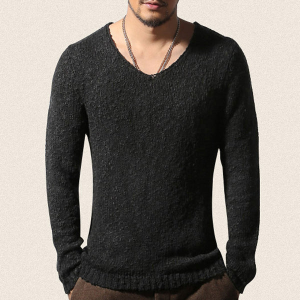 Pullover Men V neck Sweater Men's Brand Slim Fit Pullovers Casual Sweater Knitwear Pull Homme High Quality 2017 New Fashion