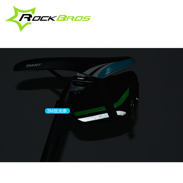 RockBros Bicycle Bag 2016 Anti-scratch MTB Mountain Road Bike Bag Reflective Cycling Rear Seat Saddle Bag Bycicle Accessories