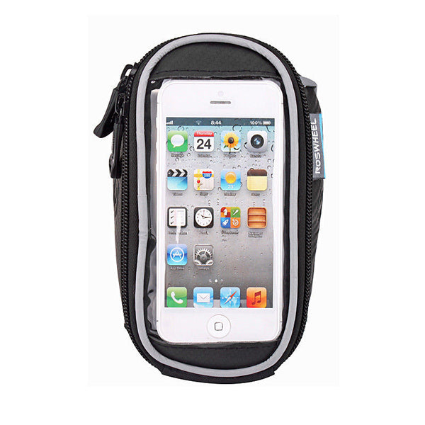 Roswheel Cycling Bike Bicycle Front Frame Handlebar Bag Pouch for 4.2 in/5 in/5.7 in Cellphone