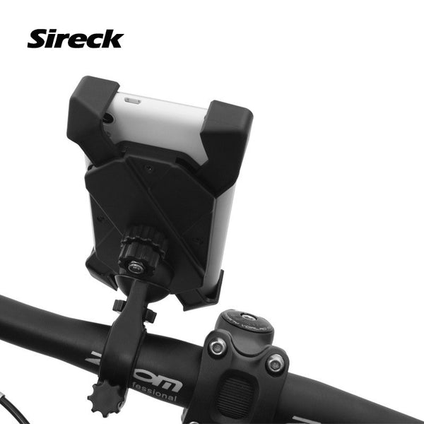 "Sireck 3.5""-7"" Mountain Road Bike Phone Holder Bag 3 Ways to Install MTB Bicycle Bag Handlebar Phone Support Cycling Front Bag"