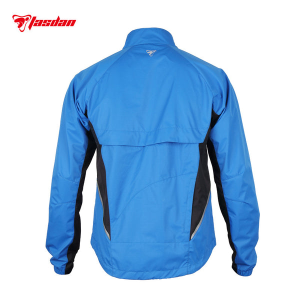 Tasdan Cycling Clothes Cycling Wear Men's Cycling Jacket Pu Coating Wind-proof W/r Zipper Off Jacket Vest Detachable Jacket