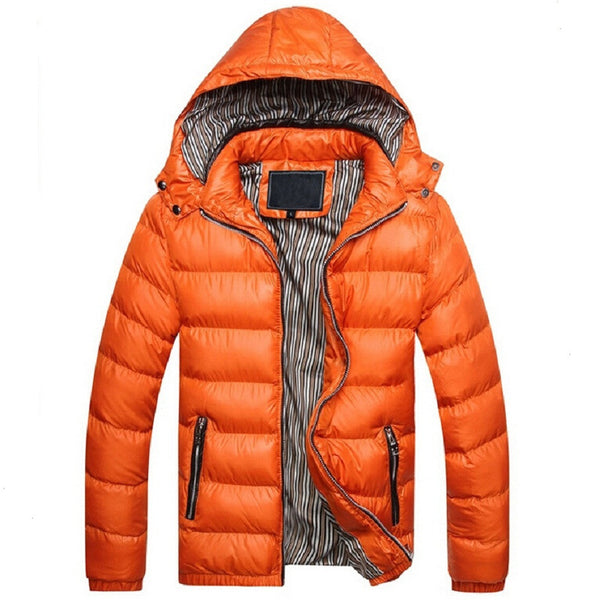 Winter Jacket Men Warm Coat Sportswear Outwear winter Parka chaquetas plumas hombre men coats and jackets Plus size M- XXXL