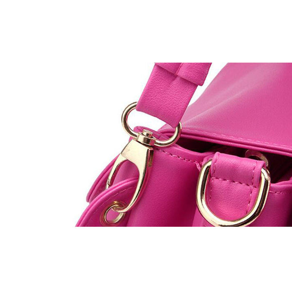 Women Handbags Female Leisure Shoulder Bags PU Leather Totes Fashionable Ladies Messenger Bags Bolsa Feminina Handtassen