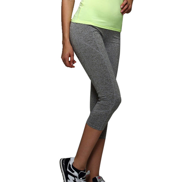 Women's Yoga Pants Lady Running Pants Tights Quick-dry Stretch Trousers Fitnness Gym Dance Leggings Plus Size Yoga Sport Capris