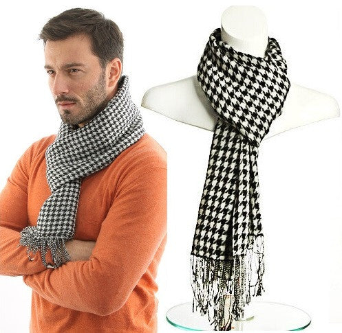 Winter Swallow gird scarf men luxury brand plaid scarves tassel pashmina scarfs,echarpe hiver,