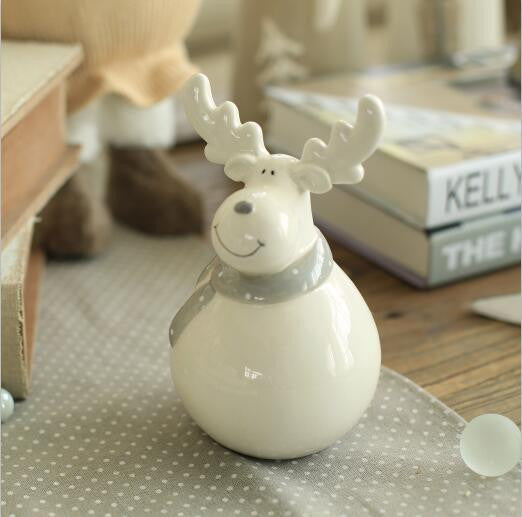 Ceramic Christmas Doll - Christmas Decorations