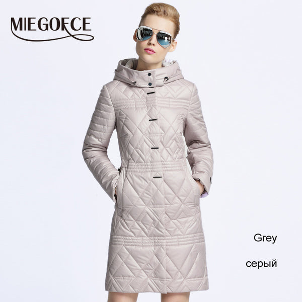 New spring jacket women winter coat women warm outwear Thin Padded cotton Jacket coat Women's Clothing High Quality - FREE SHIPPING
