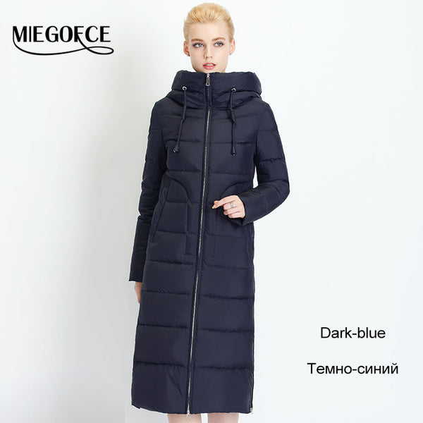 Winter Women Down Coat Jacket Warm Woman Down Parka Winter Coat High Quality European Style New Winter Collection - FREE SHIPPING