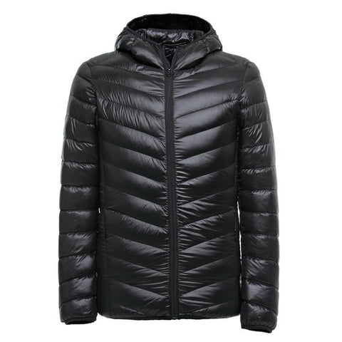 Winter Ultralight Men 90% White Duck Down Jacket Winter Duck Down Coat Waterproof Down Parkas Outerwear