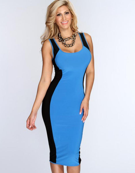 Women Midi Dress New Arrival Fashion Women Casual Bodycon Dress