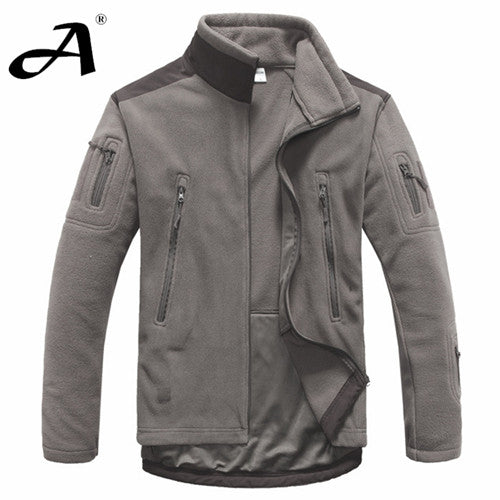 Mens Clothing autumn winter fleece army jacket softshell clothing for men softshell military style jackets