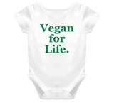 Vegan For Life Baby Baby One Piece
